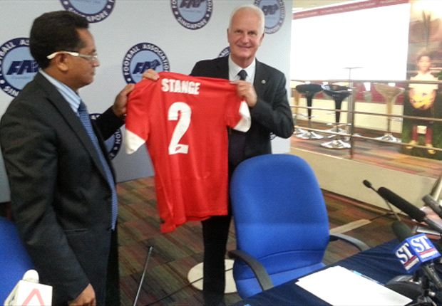 New Singapore coach Bernd Stange: A man with a storied past