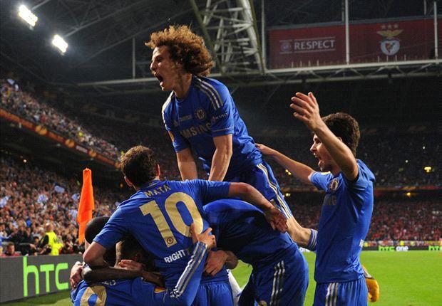 Die Angsthasen vom FC Chelsea schlagen Benfica Lissabon in der Europa League