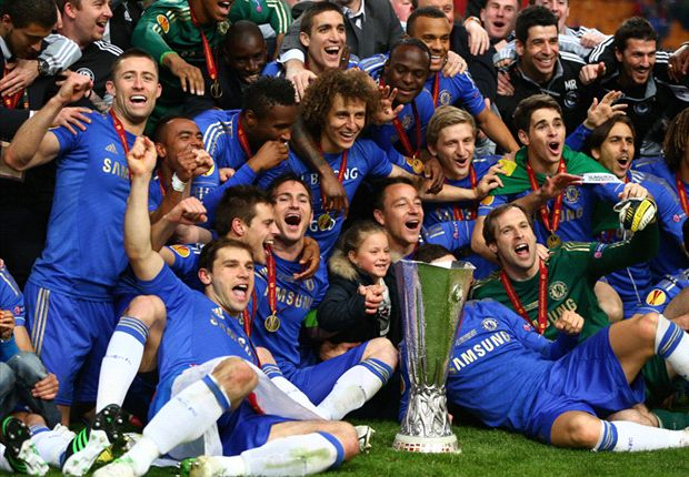 Joy, confined: Chelsea celebrate 'losers' trophy' but the sky's the limit under Abramovich