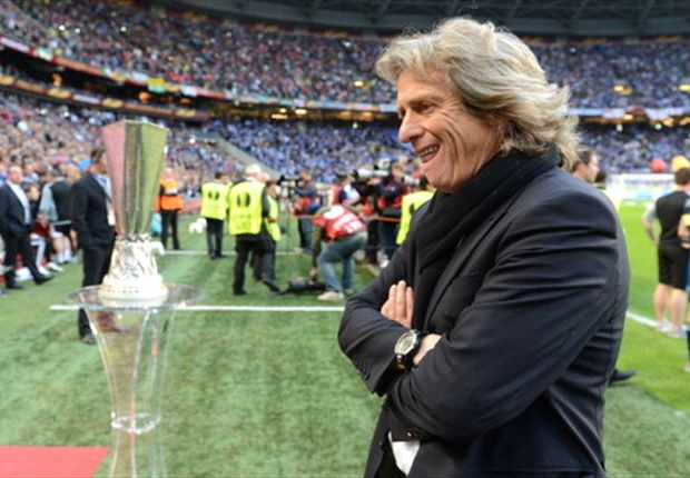 Benfica coach Jorge Jesus leaves empty handed after being on course for the treble