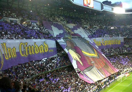 Sin simbología en el Santiago Bernabéu