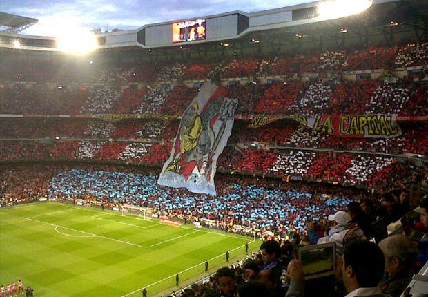 El Bernabéu ha albergado muchas finales, como la última Copa del Rey