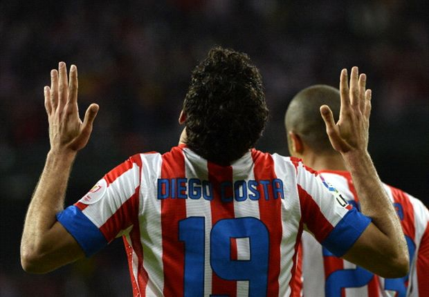 Diego Costa hat für Atletico Madrid bislang drei Treffer erzielt