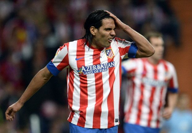 Simeone prepared to let Falcao leave Atletico Madrid