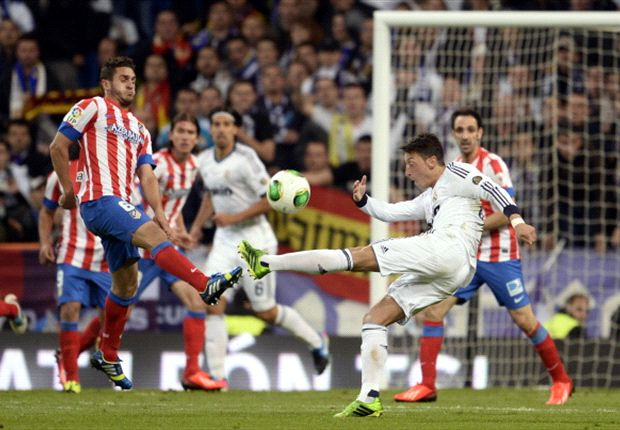 Pech beim Abschluss: Mesut Özil im Copa-Finale