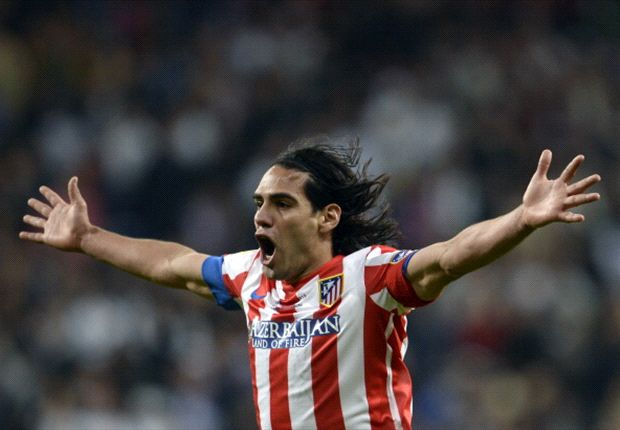 Falcao has thoroughly enjoyed his time at Atletico Madrid