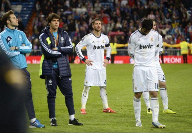 Mourinho y Cristiano Ronaldo no recibieron la medalla