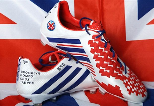 Fitting tribute: Beckham's custom adidas boots for final Paris Saint-Germain games