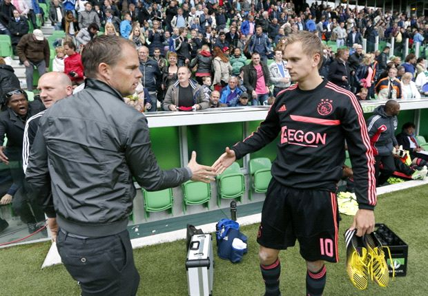 De Jong: I'm staying at Ajax