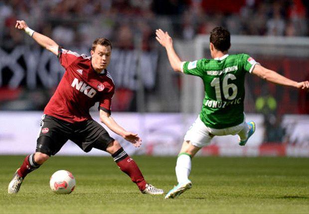 Werder Bremen auch in Nürnberg weiter sieglos