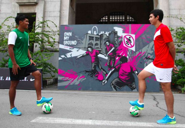 Khairul Amri and Shaiful Esah add buzz to Nike's 247 Owns My Ground Tournament