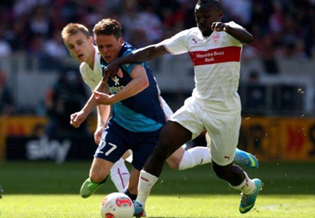 Arthur Boka möchte bis zum Karriereende das VfB-Trikot tragen