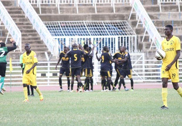 Chemelil Sugar celebrates victory against league champions Tusker