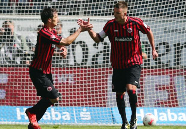 Eintracht Frankfurt nach Europa - 2:2 gegen Wolfsburg