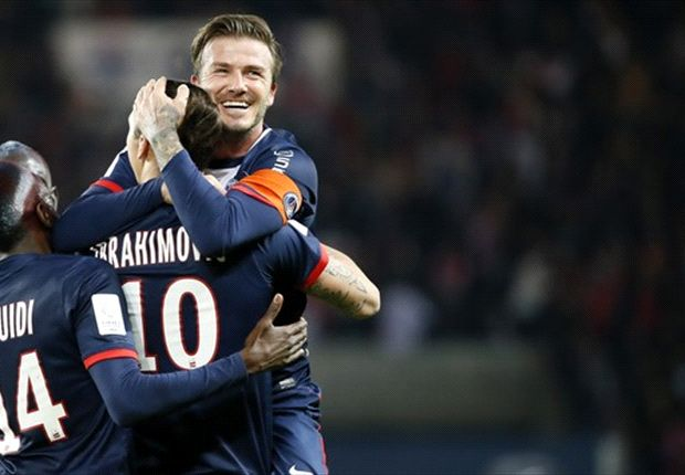 Paris Saint-Germain 3-1 Brest: Party at the Parc des Princes as Beckham bows out in style