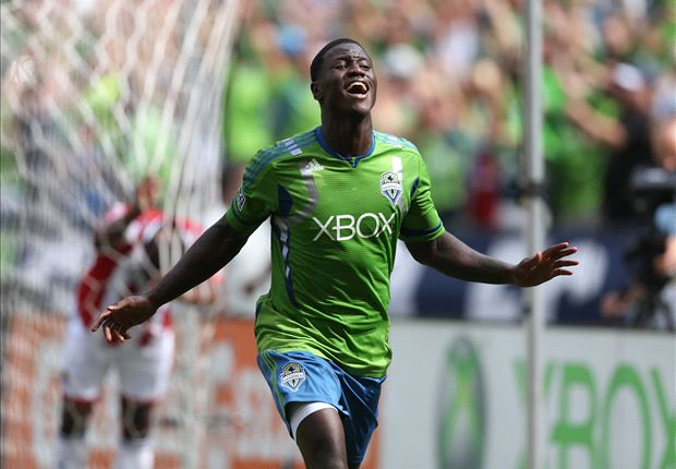 Columbus Crew 0-1 Seattle Sounders: Johnson header leads 10-man side to victory