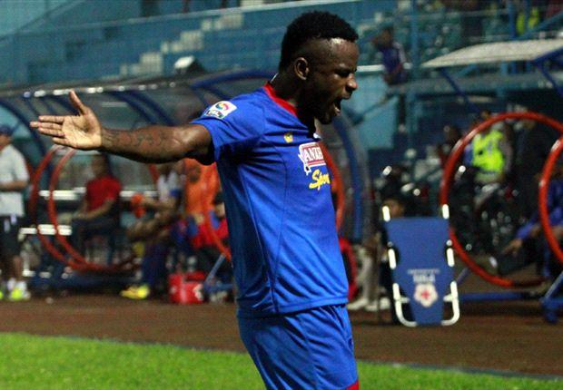 Gol Greg Nwokolo belum mampu antarkan Arema raih kemenangan
