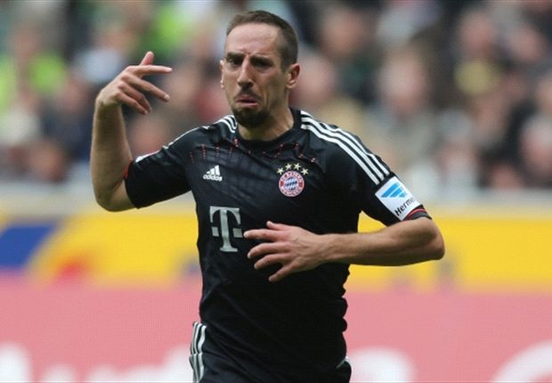 Ribery: Treble win adds pressure