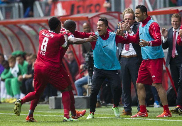 Twente ontsnapt laat tegen Groningen