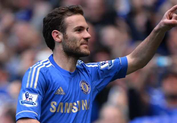 Juan Mata is savouring the atmosphere as Chelsea face Manchester City