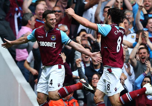 West Ham 4-2 Reading: Nolan hat-trick rounds off Hammers' season with a win