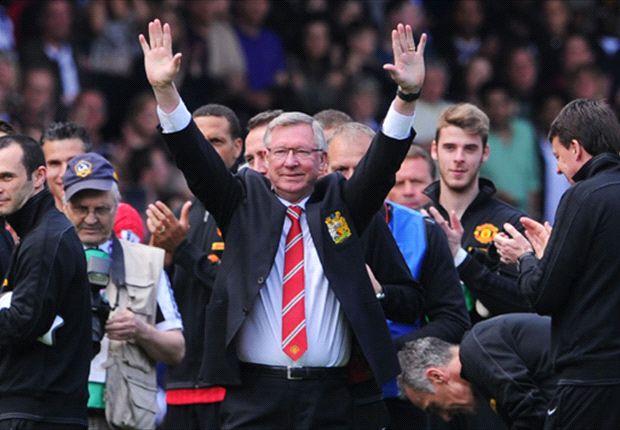 Sir Alex Ferguson percaya suksesornya David Moyes sudah melakukan hal bagus di Manchester United