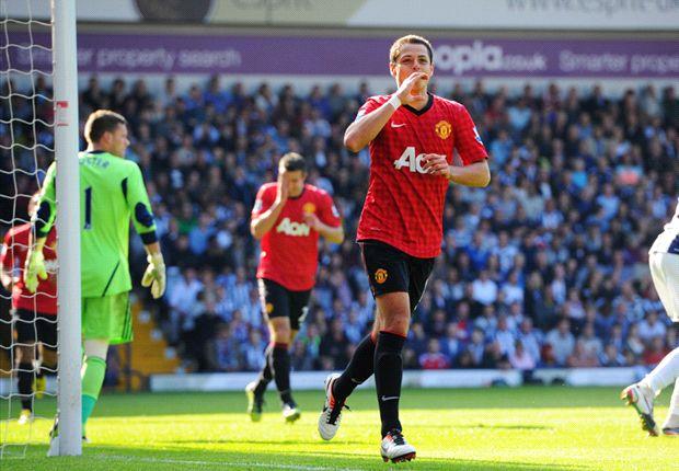 Chicharito caps season with last Man Utd goal of Sir Alex's managerial career