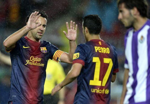Barcelona celebró la Liga en el Camp Nou ante el Valladolid