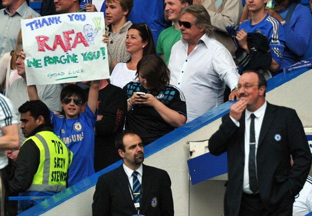 Benitez bids farewell to Chelsea