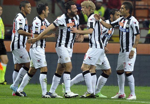 Udinese kehilangan enam pemain sekaligus.
