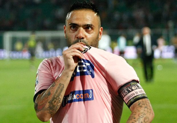 From pink to navy blue and white, is Fabrizio Miccoli set to join Victory?