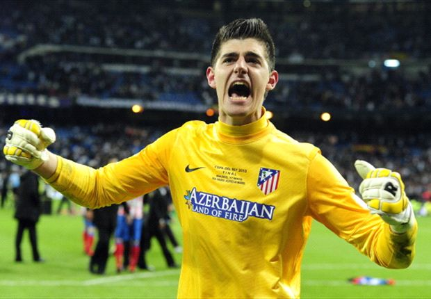 Atletico extend Courtois loan