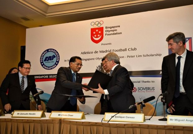 FAS sign Memorandum of Understanding with Atletico Madrid