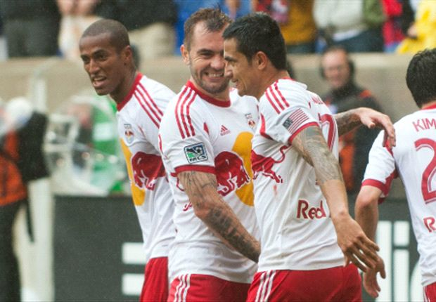 New York Red Bulls 2-2 Columbus Crew: Late Olave strike saves Red Bulls
