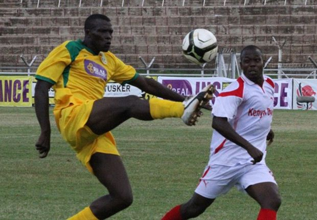 Defender Edgar Ochieng' is among the experienced players in Mathare United's set-up.