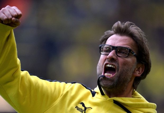 Jurgen Klopp will be hoping to celebrate in similar style at Wembley