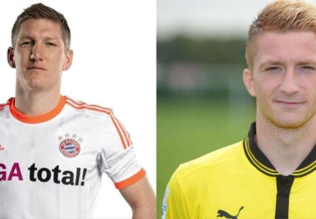 INTIP LAWAN: Marco Reus Versus Bastian Schweinsteiger, Duel Junior Lawan Senior