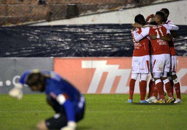 Garcilaso e Santa Fé se enfrentam pela Libertadores.