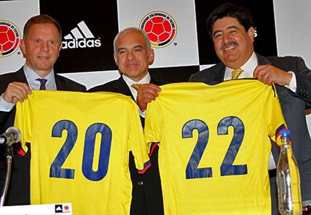 Colombia cambiará su camiseta después de las Eliminatorias.