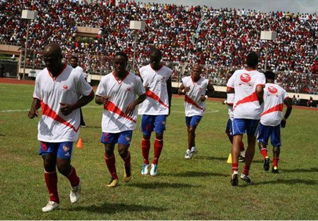 Liberia stars arriving for Uganda World Cup clash