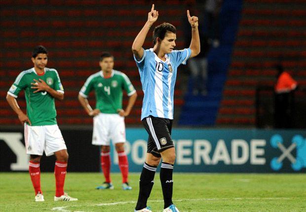 Lamela en el Mundial Sub 20 de Colombia, en 2011.