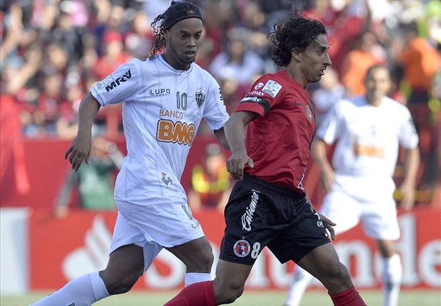 Club Tijuana 2-2 Atletico Mineiro: Diego Tardelli gives Brazilians early edge