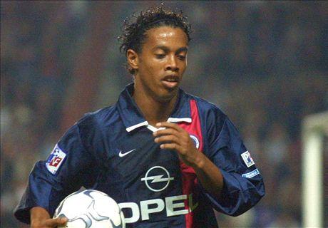 Da Ligue 1 ao estrelato: Ronaldinho