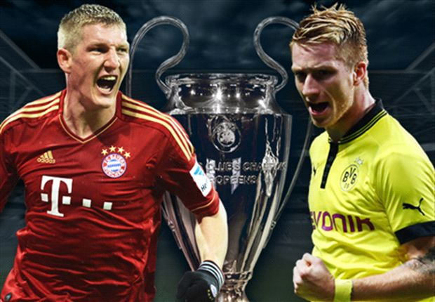The two German giants will fight it out for the European crown at Wembley