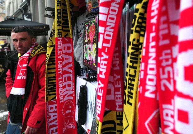London in deutscher Hand - die Vorfreude auf das Duell zwischen Borussia Dortmund und dem FC Bayern steigt