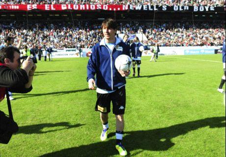 Newell's se ilusiona con Messi
