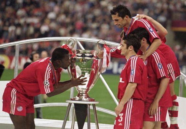 Samuel Kuffour feels Bayern must beat Dortmund to match the 2001 side