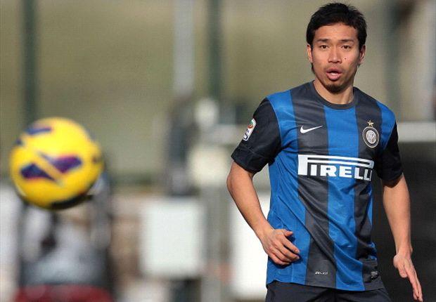 Nagatomo bertekad menghentikan Honda bila keduanya bertemu di derby Milan