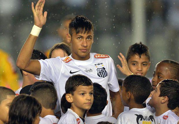 El cariño de los hinchas del Santos no se borrará con la partida.