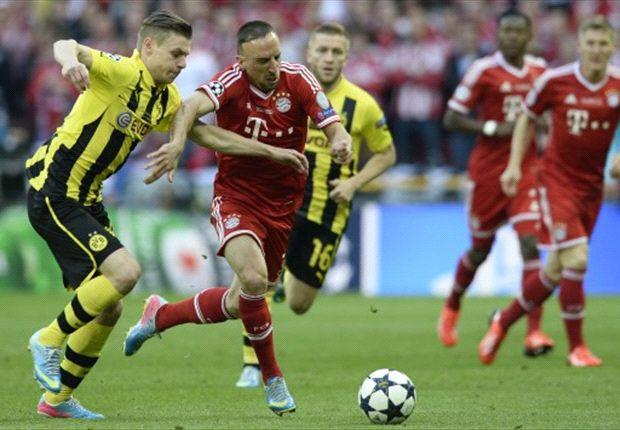 Franck Ribery, aktor penting raihan treble Bayern musim lalu